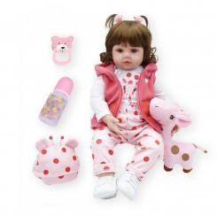 Реалістична Лялька Реборн Дівчинка 47 см