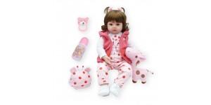 Реалистичная Кукла Реборн Девочка 47 см
