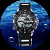 Тонкости выбора водонепроницаемых часов