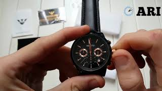 Обзор. Мужские наручные часы Nibosi 2313 Black. Интернет-магазин ARI
