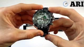 Чоловічий годинник Weide Aqua Black 1104